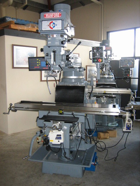 Manford Milling Machines