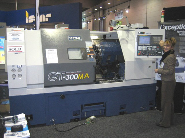 YCM GT Series high performance Geo-Turning Center