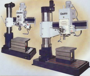 Clausing drilling machines