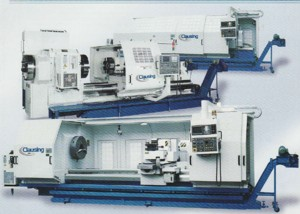 Clausing Extra Heavy-duty, Large Swing, Big Bore, Precision FIat Bed CNC Lathes