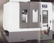 YCM NSV Series Ultra High Performance Vertical Machining Center
