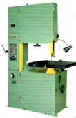 T-JAW HIGH SPEED BAND SAW, VARIABLE SPEED, ENLARGED SPEED RANGE