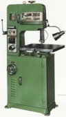 T-JAW VERTICAL VARIABLE SPEED BANDSAW WITH STATIONARY TABLE