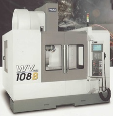 YCM WV Series WV108A * B Ultra Wide High Rigidity Vertical Machining Center