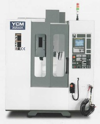 YCM XV Series HIGH PERFORMANCCE VERTICAL MACHINING CENTER