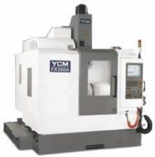 YCM FX380A HIGH SPEED 5-AXIS VERTICAL MACHINING CENTER