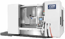 YCM TCV Series HIGH PERFORMANCE TRAVELING COLUMN VERTICAL MACHINING CENTER